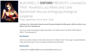 Blackwells event