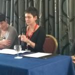 Kate Mosse, Joanne Harris, Erica Wagner, Gibraltar 2014