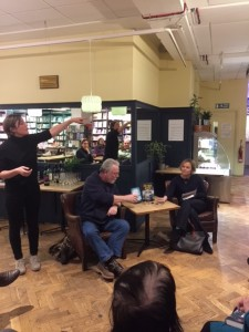 Peter May at Waterstones Oxford