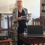Maggie Gee at Gibraltar 2014