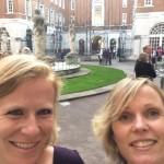 quick selfie at the British Medical Association